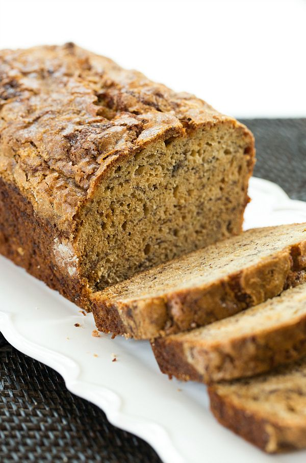 Ultimate Banana Bread | browneyedbaker.com (microwave bananas and cook down the juices)