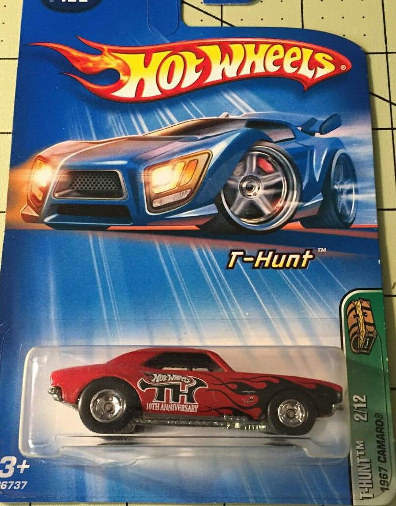 Hw T Hunt 67 Camaro Sth Hot Wheels Toys Mattel Hot Wheels