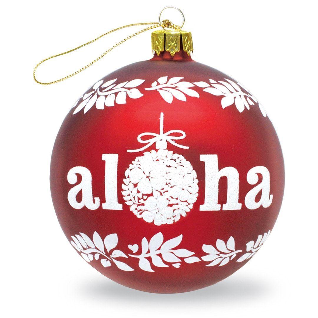Mele Kalikimaka Ornament Wooden Engraved Christmas Ornament Hawaiian christmans ornament Hawaiian Islands