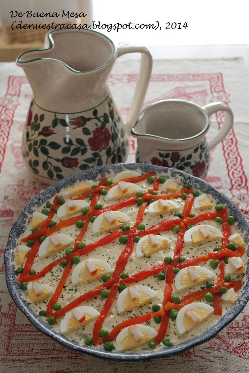 Ensaladilla rusa httpdenuestracasaspot201401 ensaladilla rusa httpdenuestracasaspot2014 spanish recipesspanish fooddisplayeducationplatingbrunch recipessandwichesfood recipessnacks forumfinder Image collections