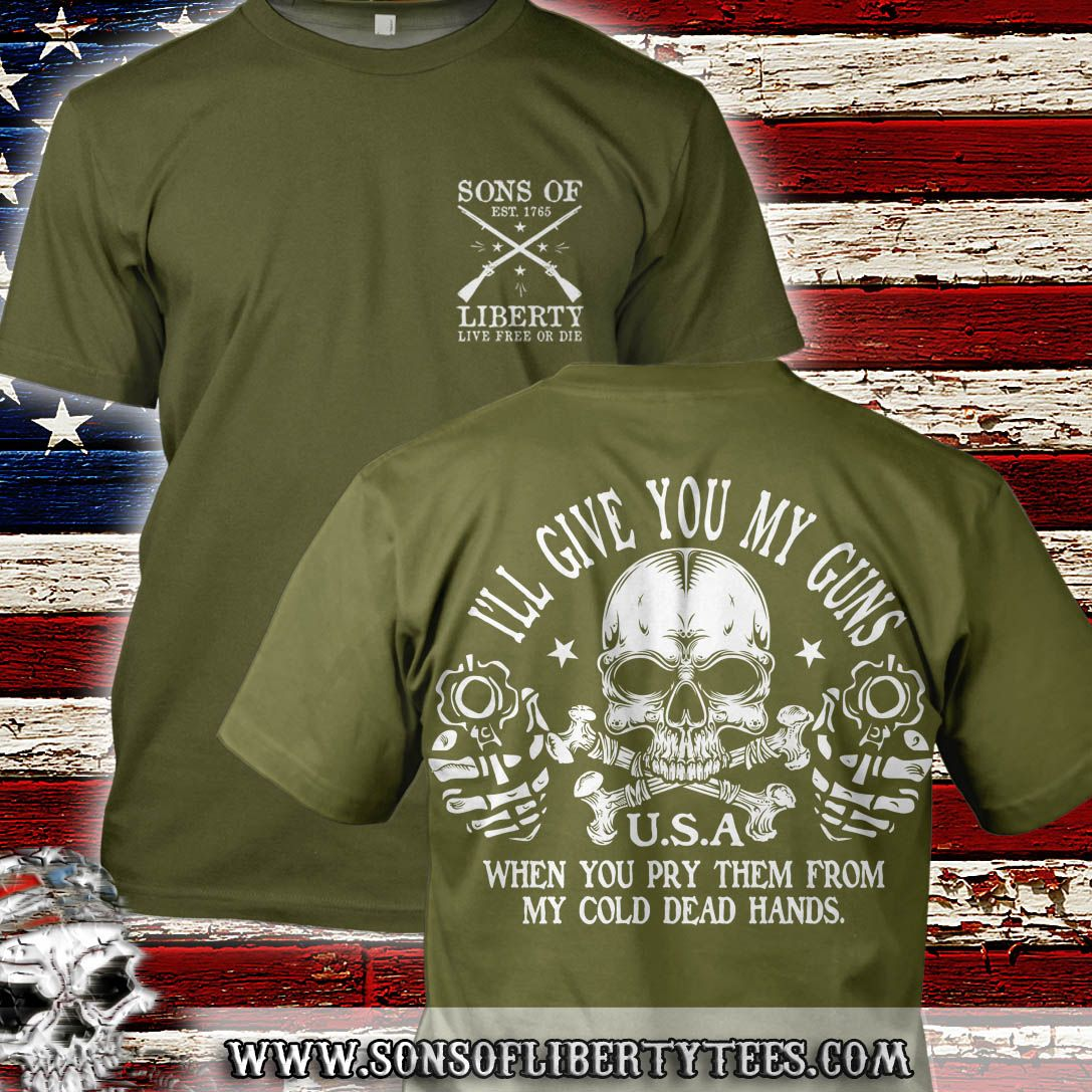 Long Sleeve Shirt Sons Of Liberty Live Free or Die