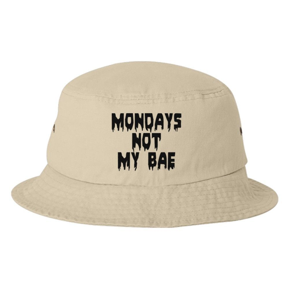 Mondays Not My Bae Bucket Hat