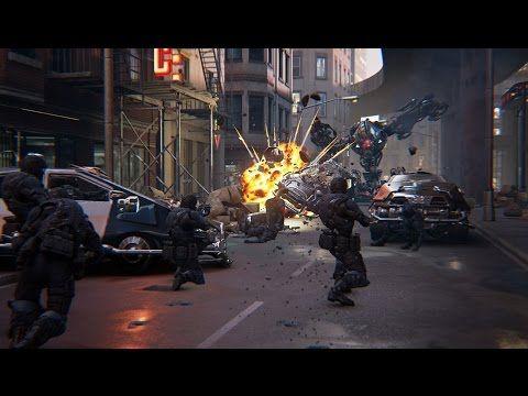 unreal engine  showdown cinematic vr demo  epic gamescomputer graphics digital art