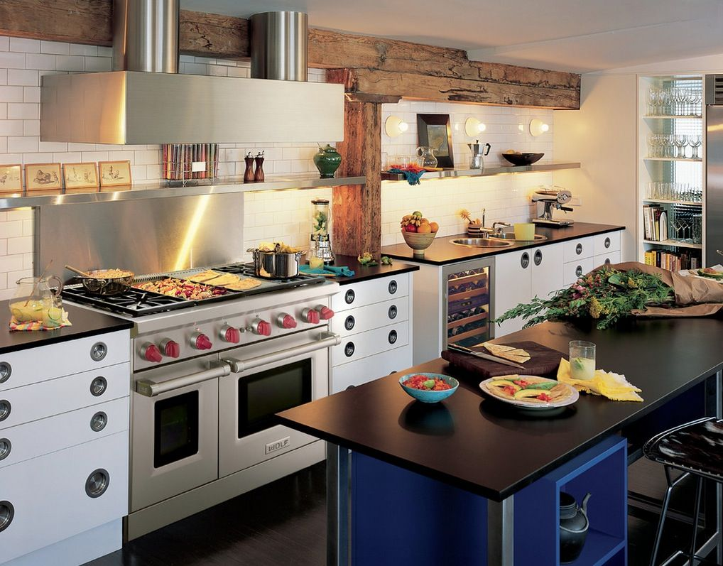 Combining Two Different #tile Types Might Be Risky But With All Captivating Kitchen Design Innovations Decorating Design
