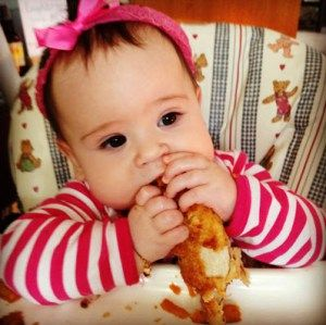 Baby Led weaning recipes - sweet corn and pea fritters, pastas and more from My Lovely Little Lunch Box