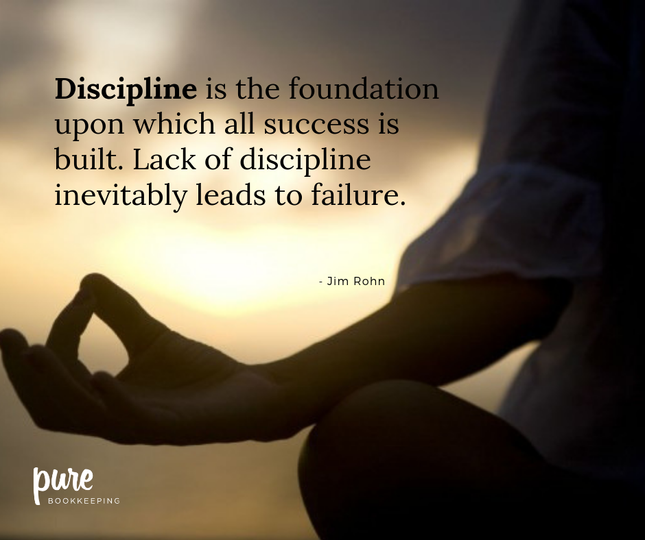 Discipline Quote Of The Week Discipline Great Quotes