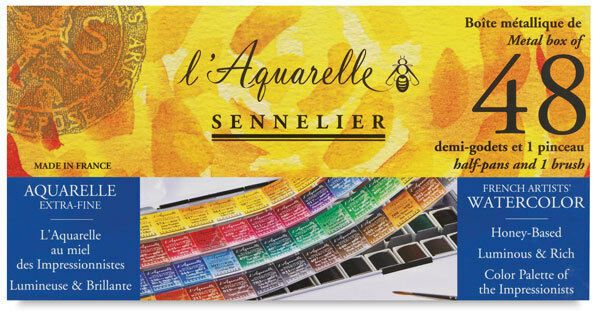 Sennelier L Aquarelle Professional Artists Watercolour Sets