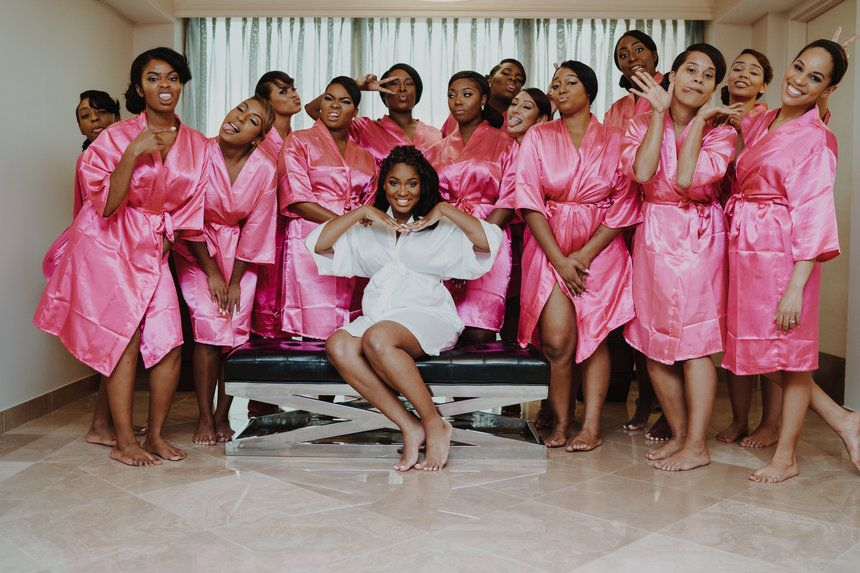 Squad Goals  - Bridal Bliss: Tiera and Oluwaseyi's Romantic Wedding Photos Will Leave You Swooning