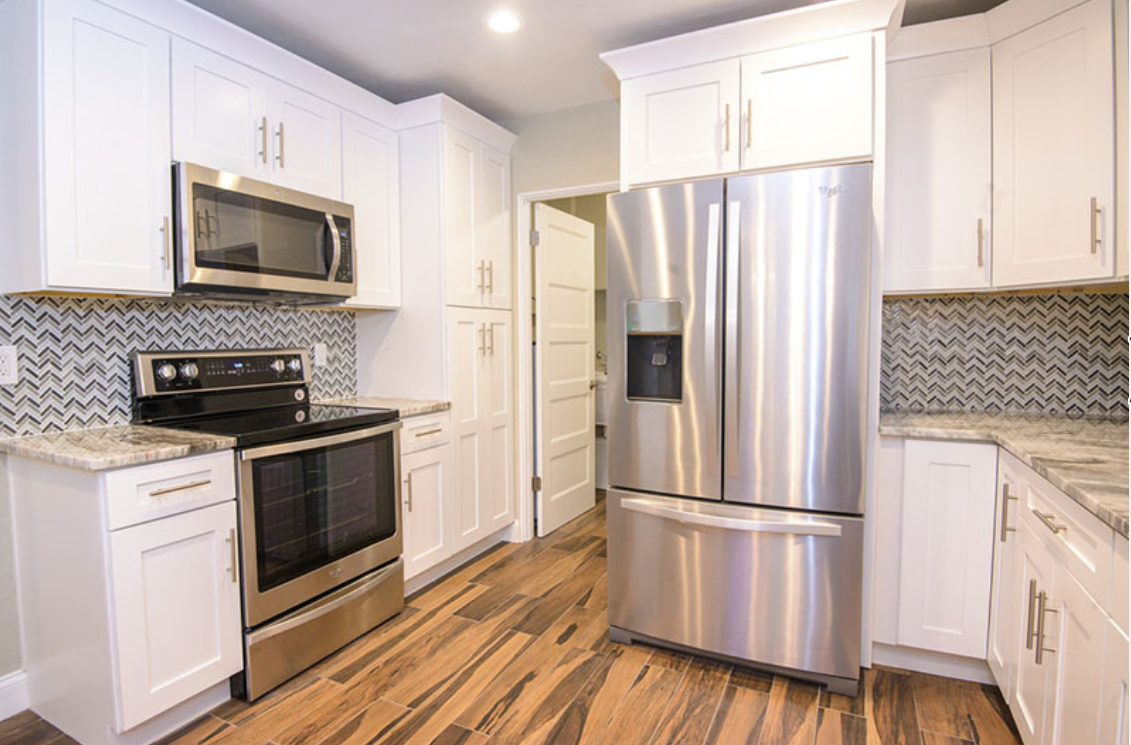 Colorado White Shaker Rta Cabinets Kitchen Design Showrooms Shaker Kitchen Cabinets Lily Ann Cabinets