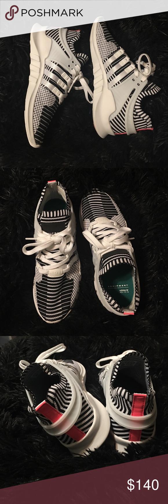 Zebra adidas eqts indossato una volta!uomo che è equivalente a