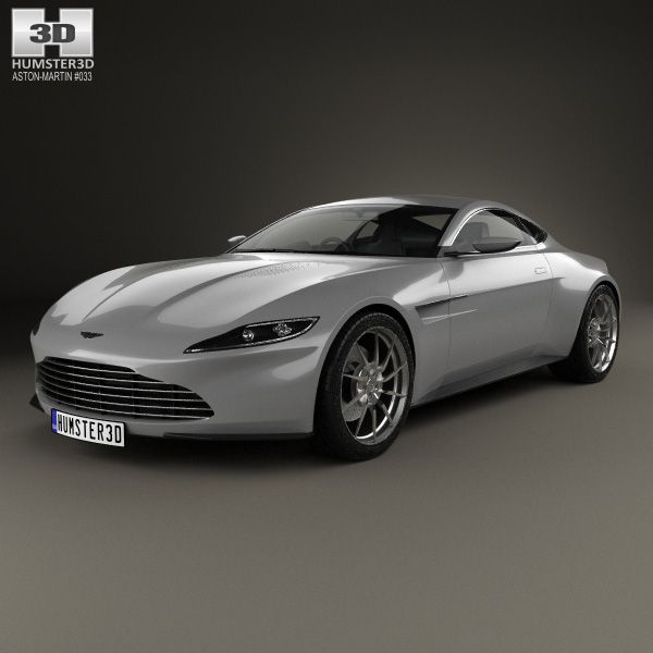 3D Model Of Aston Martin DB10 2015