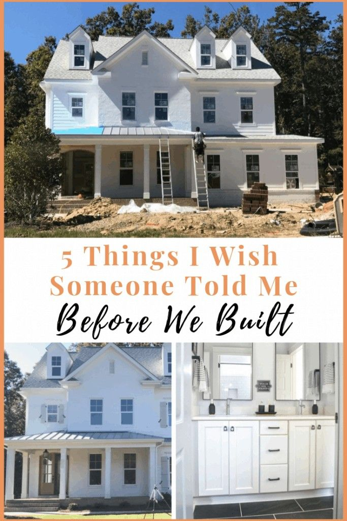 5 Things To Consider When Building Your Custom Home - Chrissy Marie Blog