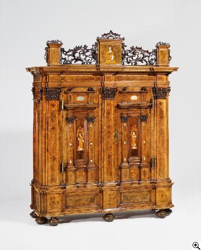 Barock Fassadenschrank Von Ka Nstlerdatenbank Van Ham Kunstauktionen Antique Furniture Furniture Antique Cabinets