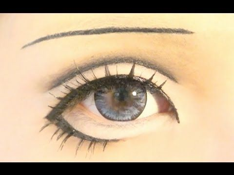 Tutorial : Anime Eye Makeup 18