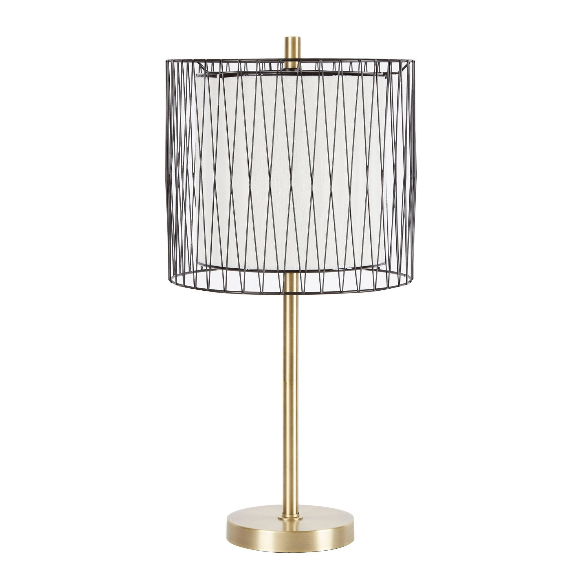 Roxie table lamp with wire cage accent gold metal outlet store roxie table lamp with wire cage accent keyboard keysfo Image collections