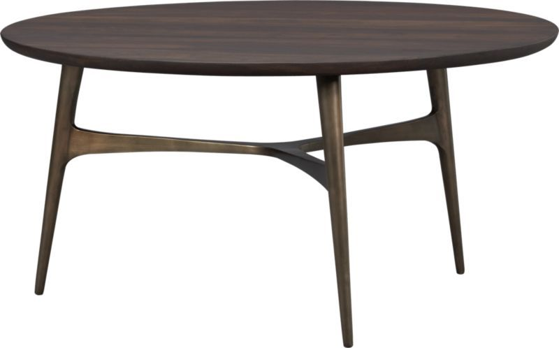 Merveilleux Bel Air Round Coffee Table | Crate And Barrel
