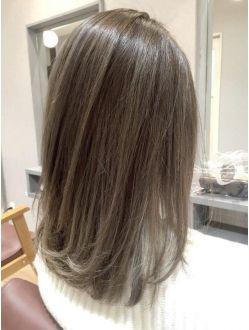 イルミナサファリ ハイライト ローライト ヘアスタイリング 髪型