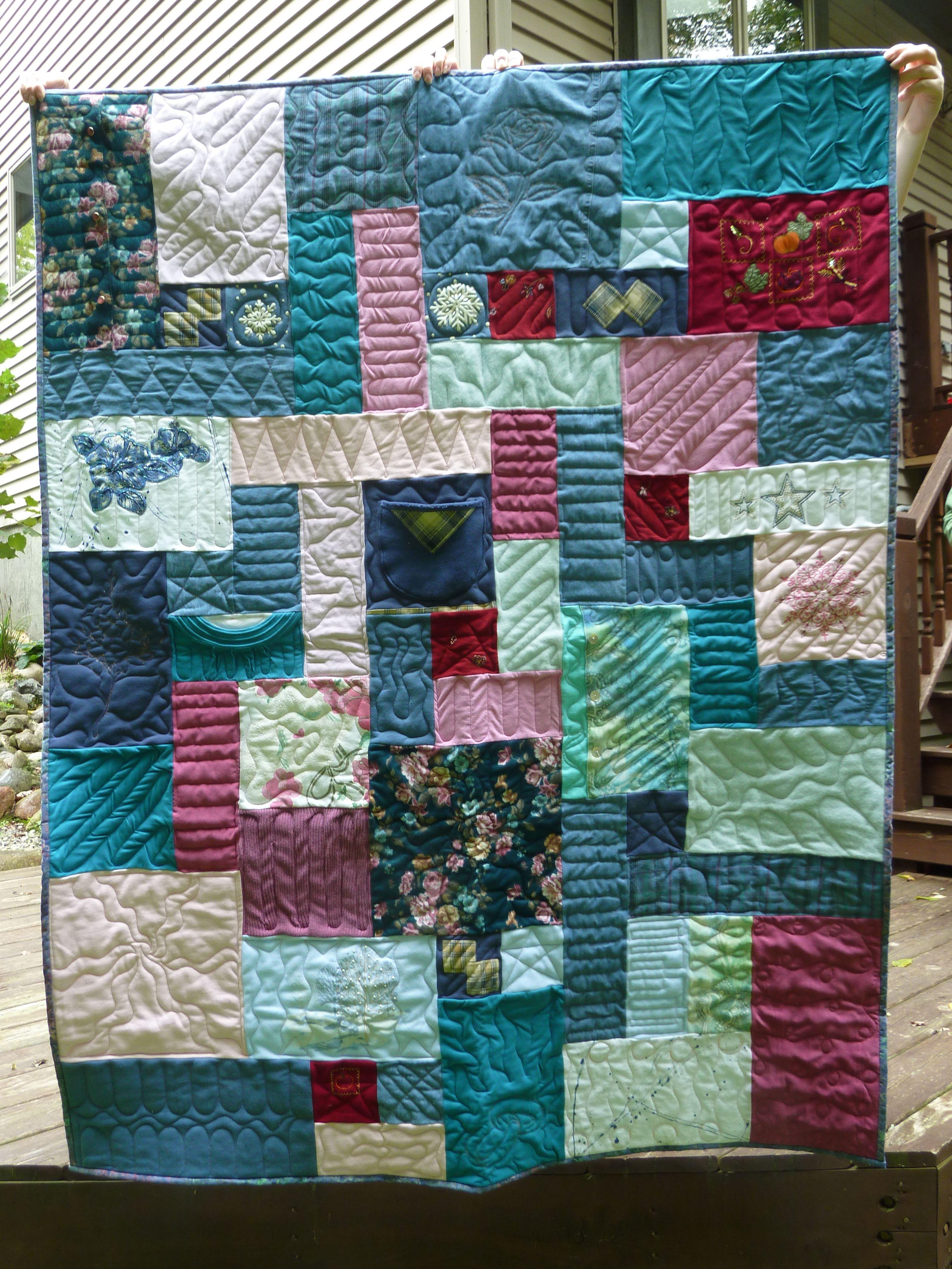 Memorial Quilts On Pinterest 17 Pins
