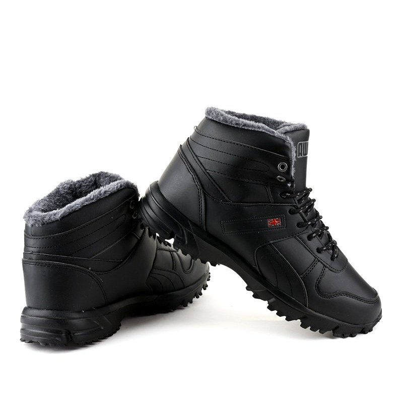 Black Insulated Track Shoes Mc783 1 Track Shoes Shoes Boots