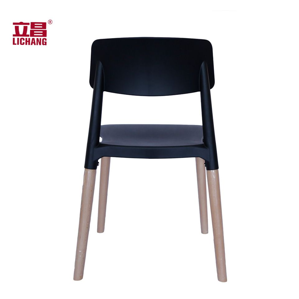 Cafe Chair Simple Plastic Wooden Dining Chair XRB 091