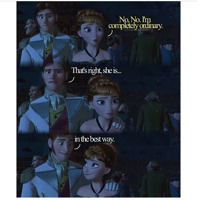 Anna and Hans<\3 I loved them together x'(