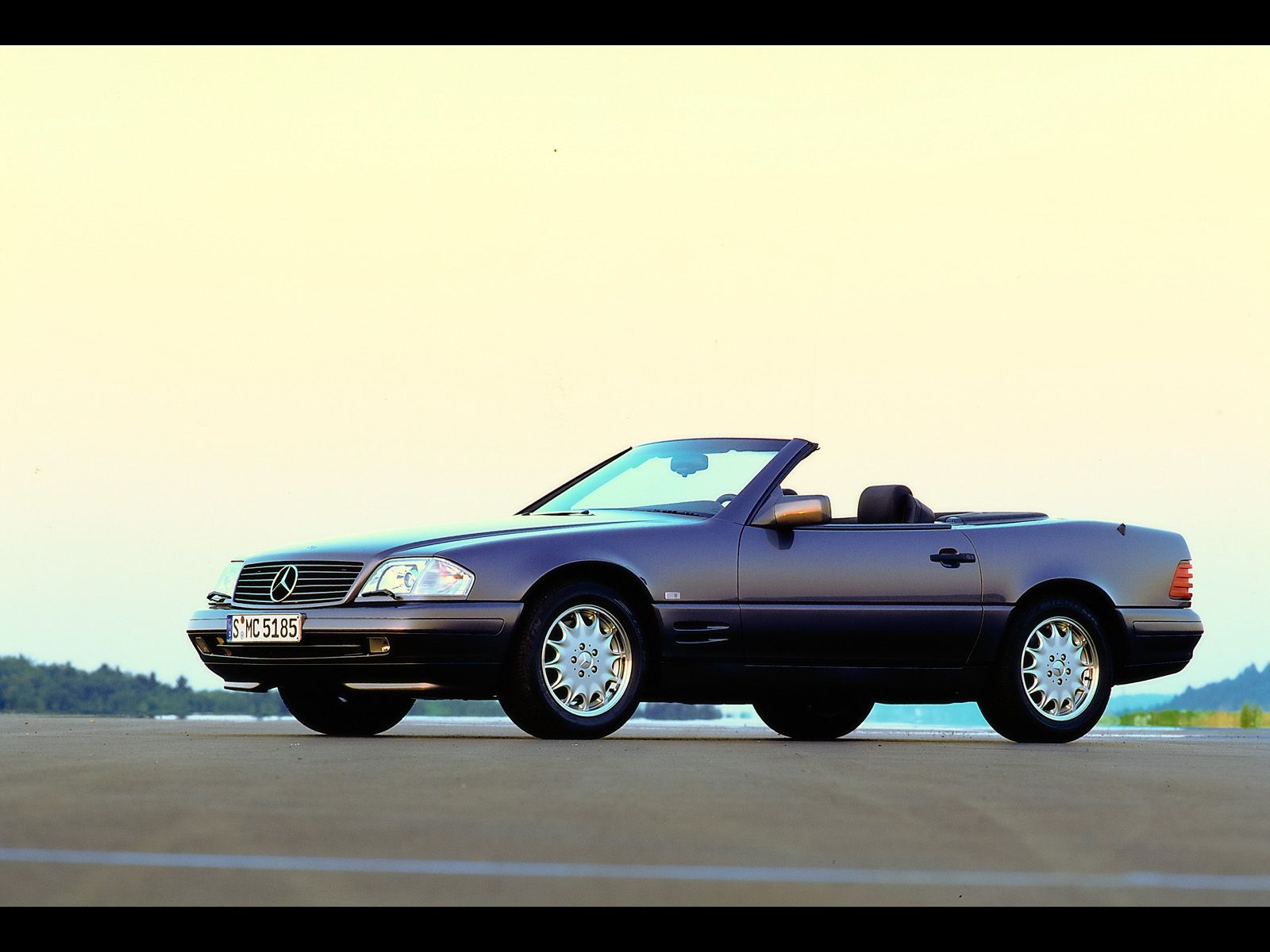 1989-2001 Mercedes-Benz SL R129 - SL 500 after the first major facelift in  1995 2 - 1600x1200 - Wallpaper
