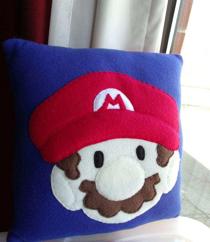 Mario plush pillow by cynicalsniper muñecos pinterest plush