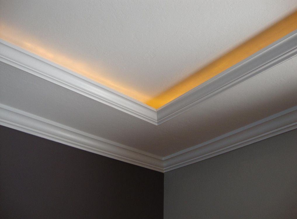 crown molding lighting diy | Mouldings | Pinterest ...