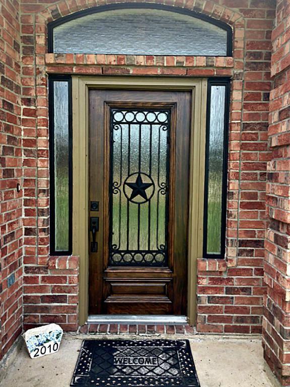 Charming Texas Star. Entrance DoorsFront ...