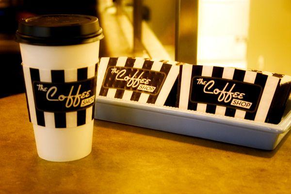 The Coffee Shop Gilbert Az Coffee Shop Coffee Branding Coffee Cup Holder