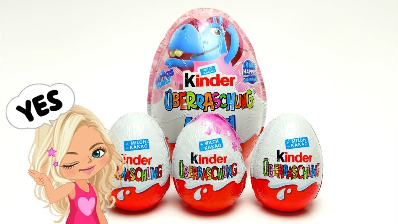 Kinder Maxi Surprise Egg With Maxi Toys For Kids Kids Toys Kinder Surprise Egg