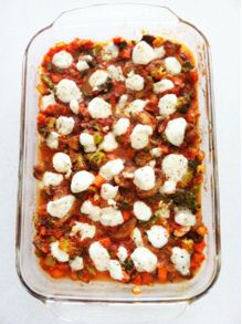 recipe: my carb-less version of pizza