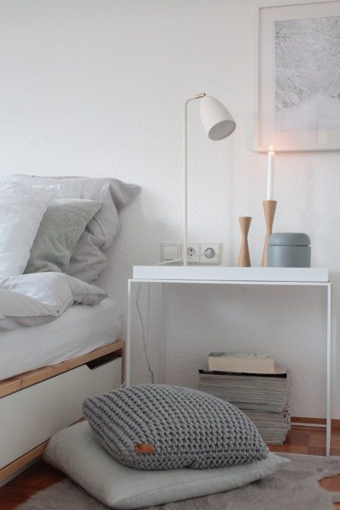 Winter Wonderland Bedrooms, City living and Interiors - schlafzimmer wei ikea