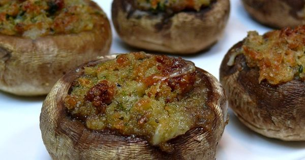Italian Stuffed Mushrooms | Recipe | Italian, Mushrooms and Stuffed mushrooms