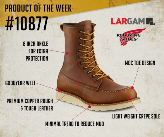 f7297221f9e 10875 Red Wing Men s 6 Inch Boot Check out our blog for more information on  the