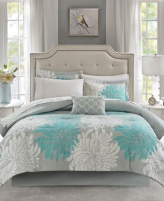 Maible Reversible 7 Pc Twin Comforter Set In 2019