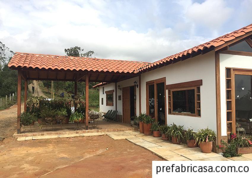 Galeria 2 casas prefabricadas i for Casas de campo prefabricadas