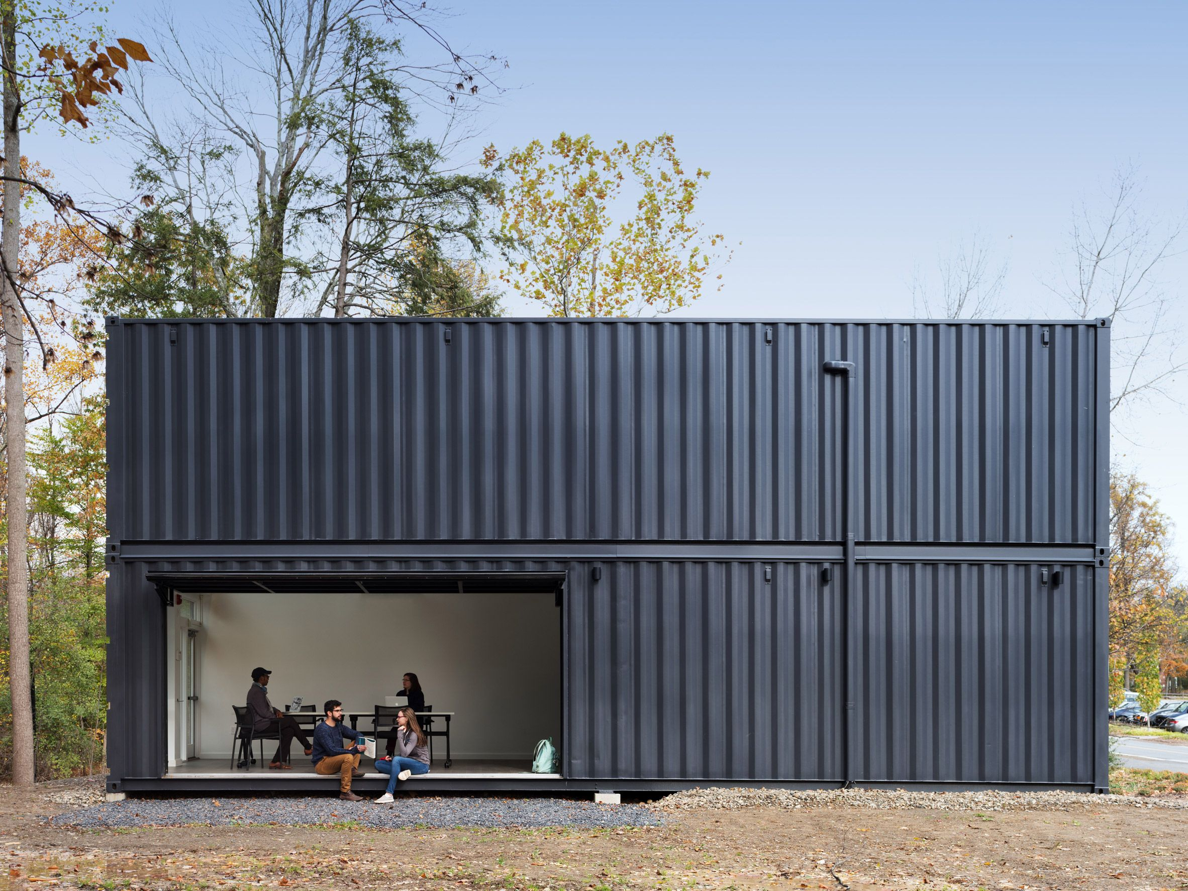 Container Haus Einrichten American Firm Mb Architecture Has Used Shipping Containers To