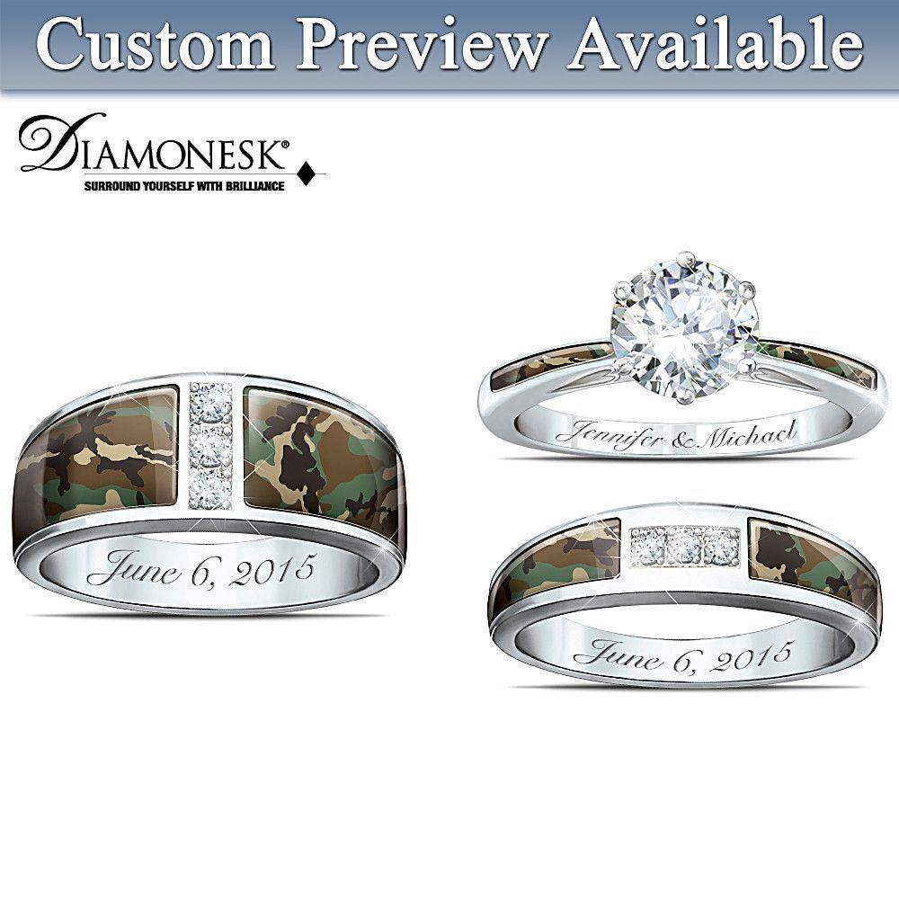 Classic Romantic Angel Wing Earrings Wedding ring sets