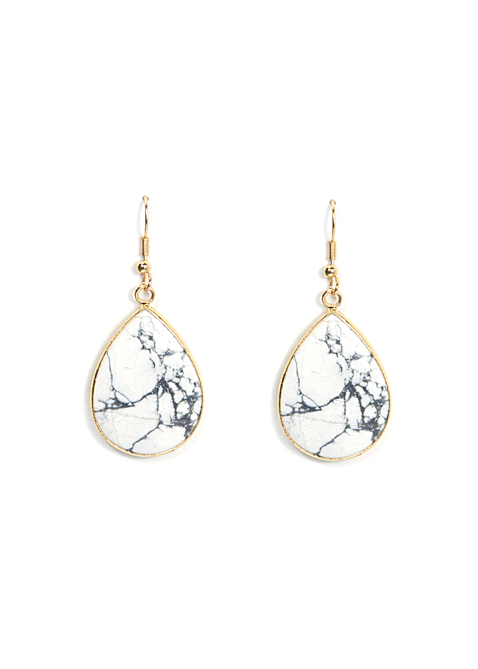 Cl Up Your Outfit With Our Marble Earrings Their Unique Pattern Stands Out From Other Types Of Stone Jewelry Make The Trend Own Today