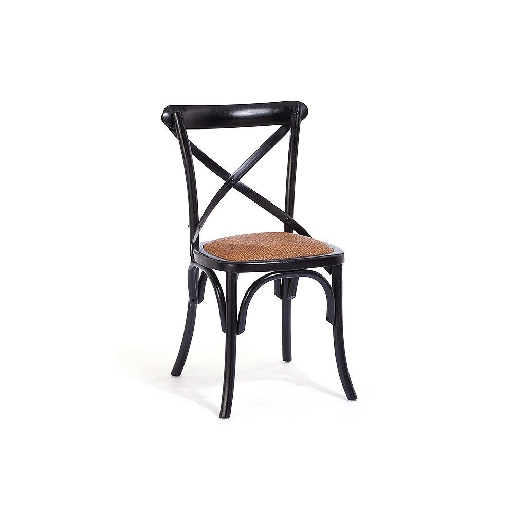 Our Canton bistro chair, handcrafted from rattan and solid ash ...