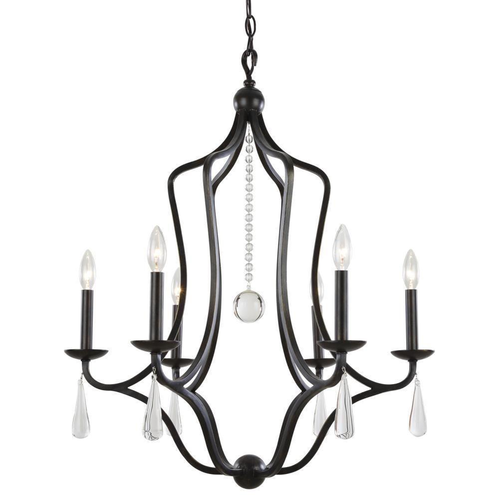 Crystorama 5976 eb manning 6 light chandelier english bronze crystorama 5976 eb manning 6 light chandelier english bronze arubaitofo Image collections