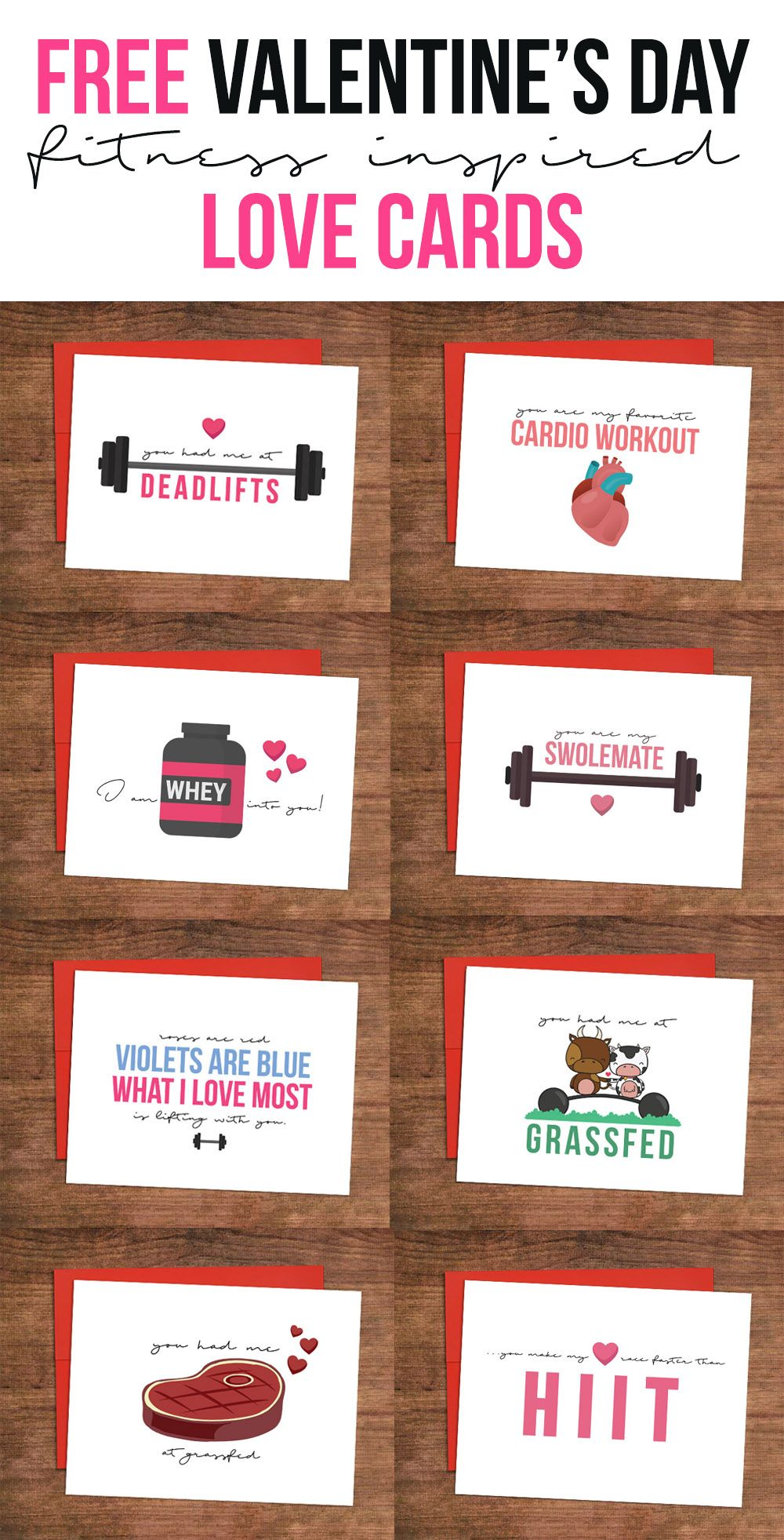 Fitness Valentines Day Cards 10 Funny Valentines Day Cards For Him Fitness Valentines Gifts Funny Valentines Cards Valentines Workout