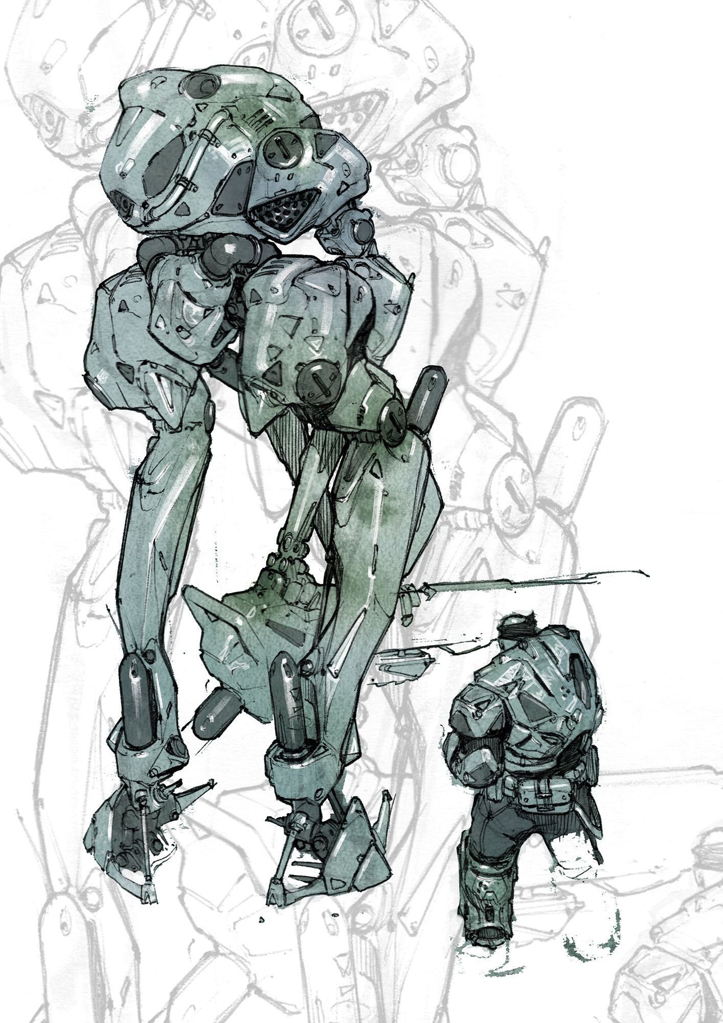 ArtStation - Sketchbook stuffsies, Nikolay Georgiev