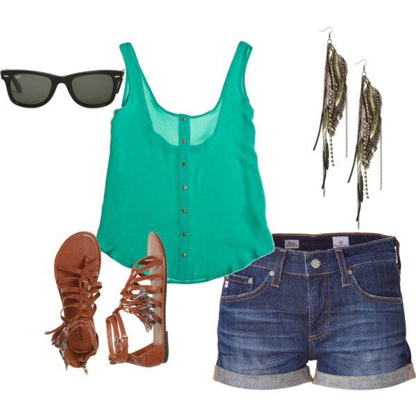 summer wish, created by tenchita-alzaga-elizondo on Polyvore...love it!