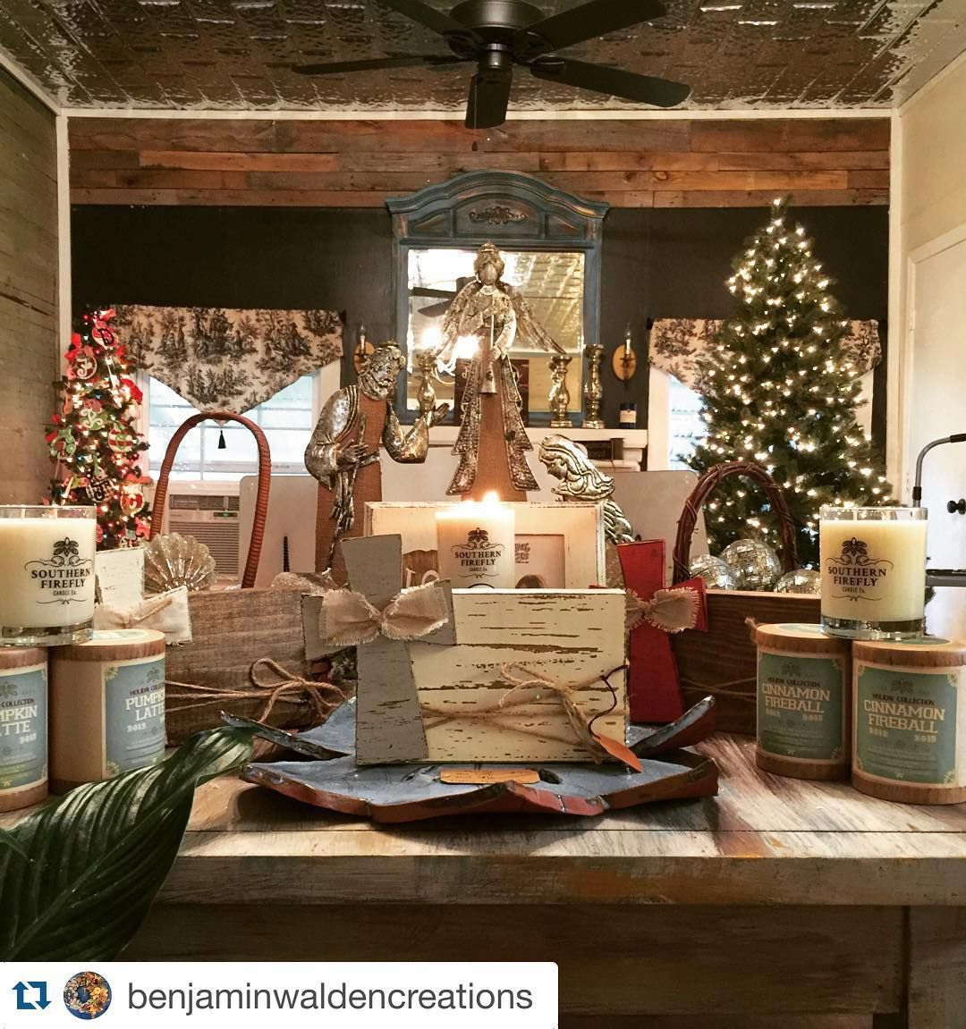 So excited for our newest merchant location @benjaminwaldencreations  Grand Opening and Open house is this Thursday! November 12th starting at 5pm. I hope to see everyone there!! We have lots of great items and more to come!!! We are so excited!!! @southernfireflycandle