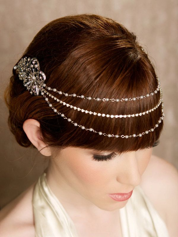Gorgeous Bridal Hair Accessories and Veils from Gilded ...