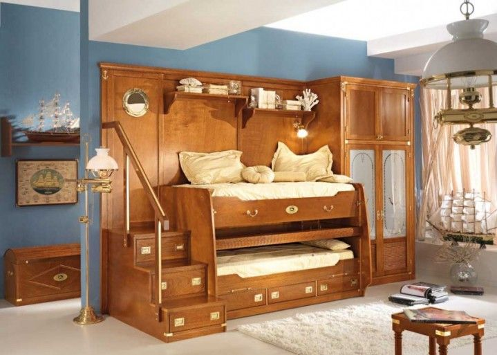 Kids Bedroom Design With The Tv Roof Classic Kids Bedroom With