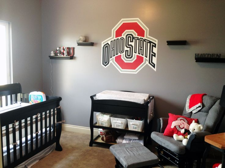 Ohio State Buckeyes Bedroom College Basketball