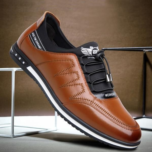Casual Leather Shoes   Mens fashion